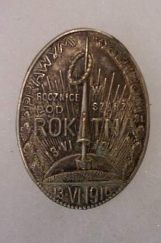 Rokitna Badge