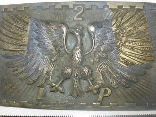 2nd Polish Legion Belt Buckle
