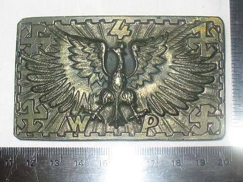 Click image for larger version.  Name:Polish 4th Legion Belt Buckle replica.jpg Views:115 Size:263.0 KB ID:116241