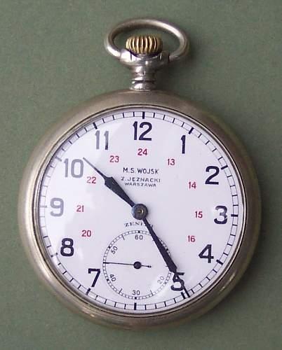 Click image for larger version.  Name:MS Wojsk Jeznacki pocket watch 001.jpg Views:394 Size:84.5 KB ID:118704