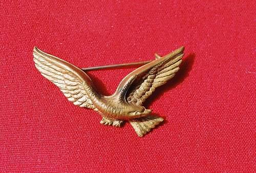 Need id on this eagle pin...polish???