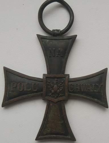 Cross of Bravery by A.Rozycki