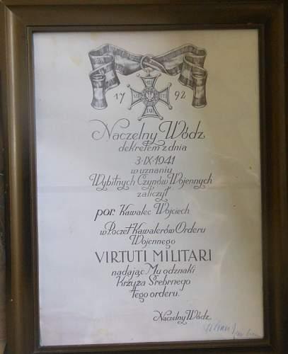 Virtuti Militari Thread