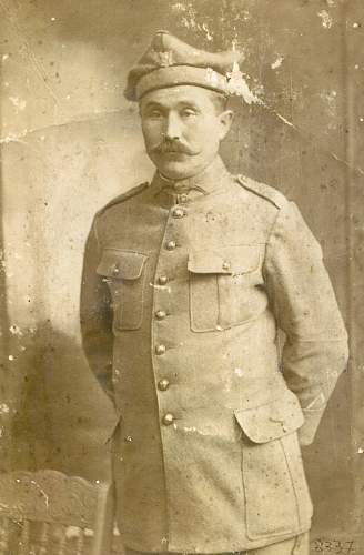 Great-grandfather's uniform