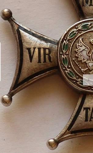 Virtuti Militari - nr 18?