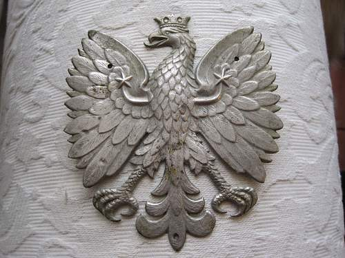 Re: help needed identifying this Polish Eagle.