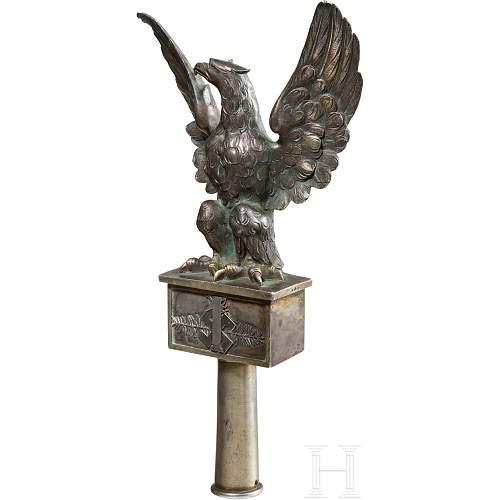 1st Podhale Rifles Regimental Standard Eagle Finial