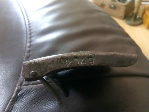 Polish belt buckle dug up in Lapland