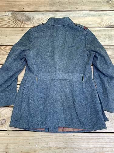 Haller Army uniform