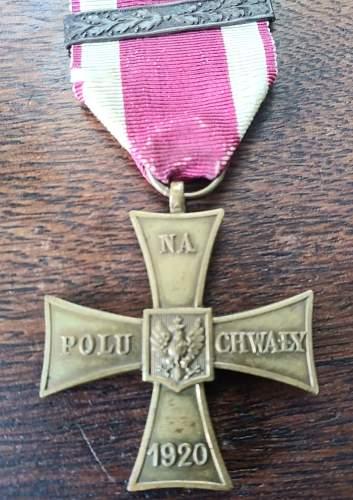 Polish Cross of Valour