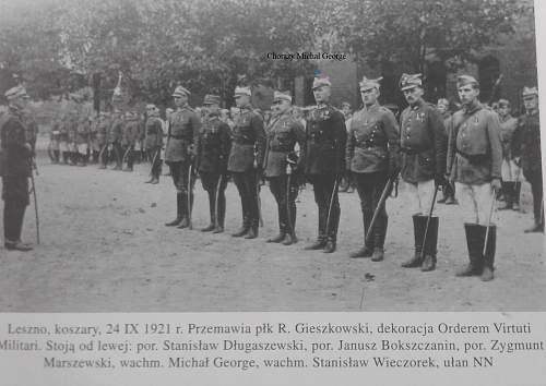 Virtuti Militari for Chorazy George