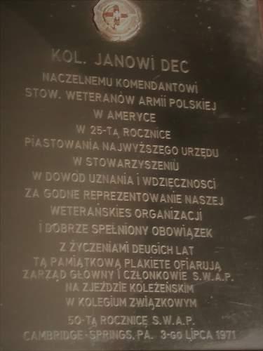 Plaque Translation please