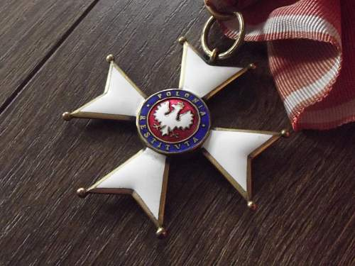 Polonia Restituta Cross with case Fake or original?