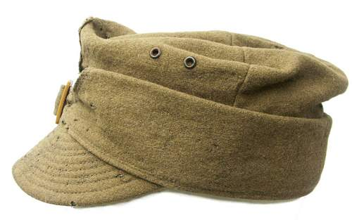 Click image for larger version.  Name:Wz.37 Polish Field Cap (Pre-1939) 2.jpg Views:111 Size:64.8 KB ID:160688