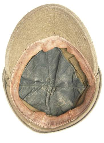 Click image for larger version.  Name:Wz.37 Polish Field Cap (Pre-1939) 5.jpg Views:140 Size:126.8 KB ID:160692