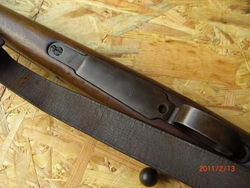 Pre War Rifles - my Wz.29 rifle