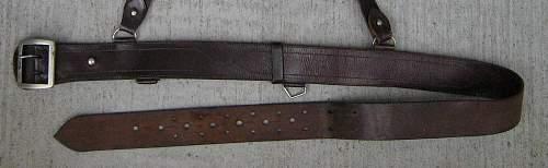 Pre-war Polish Officers Belts - My Wz.36 Officer's Belt ?