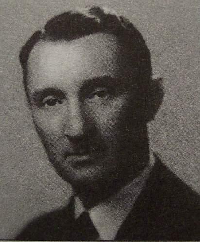 Podporuznik Jan Filipek's calling card  (later promoted to Kapitan murdered at Katyn)