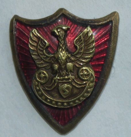 Civilian lapel pin. Is it of a military style or type?