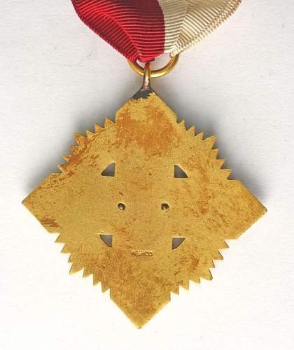 Polish 1920 Commemorative award for American Volunteers.