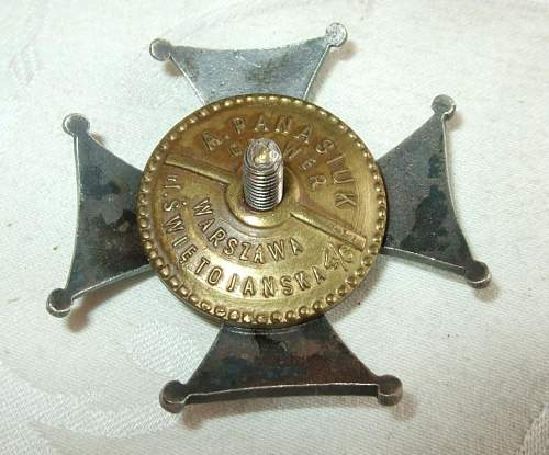 2nd Rakitnianski Light Horse and 18th Infantry Division Badges