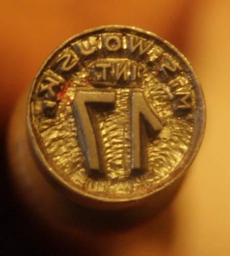 Polish M.S Wojsk stamp - 100% original ?