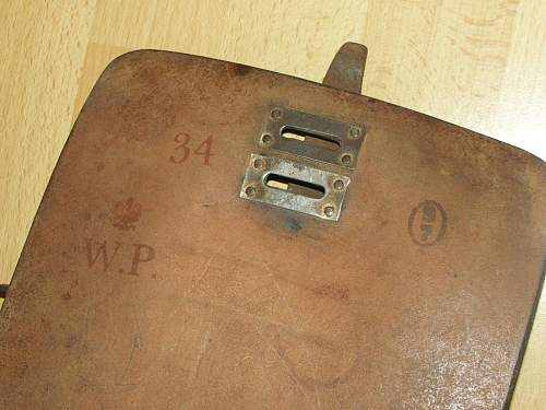 Pre-war Polish Officers Document Cases - Type A and B - a pre-war Officer's Document Case ?