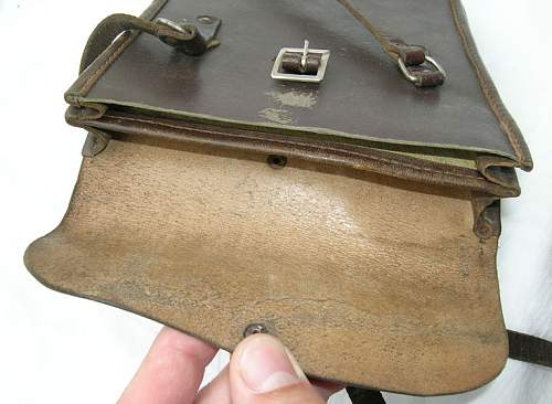 Two Polish Officers Mapcases - an insert and a mapcase, 100% original pre-war ?