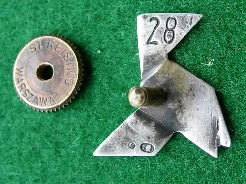 122 Escadrille Badge