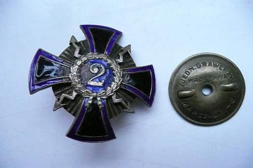 Polish Signals Regimental Badge