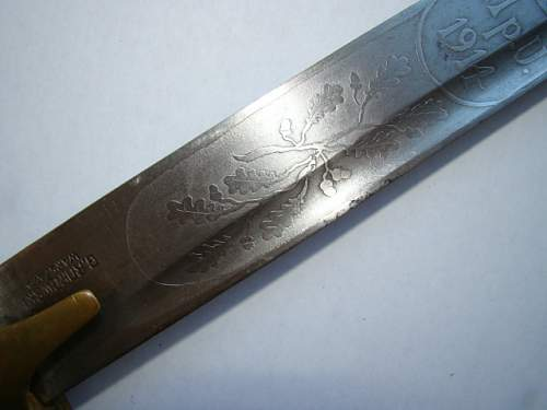 EBay wz.21 sword engraved 11p U #190594286150