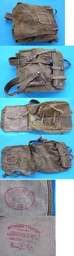 Wz.35 Backpack, 100% original Pre-war ?