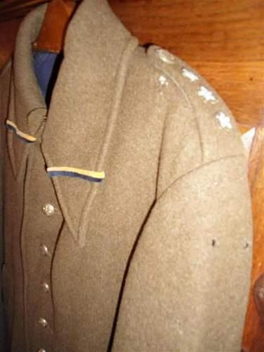 Polish Infantry Captain's Greatcoat - 100% original Pre-War ?