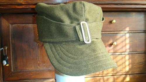 Wz.35 or 37 Polish Field Cap,  maybe private purchase from a tailor, 100% original pre-war ?