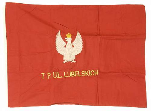 Reproduction Polish military flags etc
