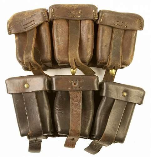 Prewar Polish ammo pouches?