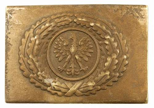 Click image for larger version.  Name:Polish Army WW2 buckle.jpg Views:347 Size:40.8 KB ID:278144