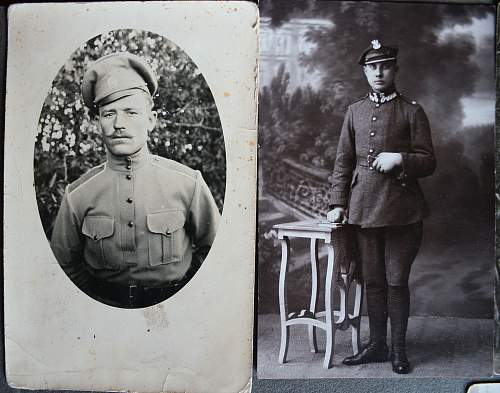 Polish Army Photos and letters.