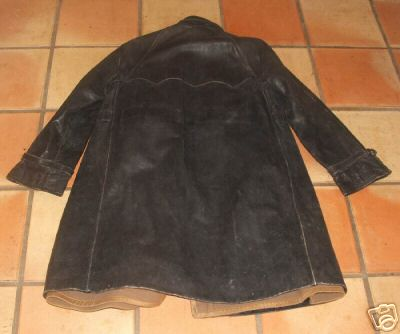 Black Leather Coat of the 10th Motorized Cavalry Brigade