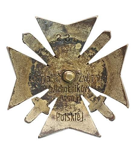 Click image for larger version.  Name:Związek b.Ochotników Armii Polskiej.jpg Views:74 Size:75.8 KB ID:285727