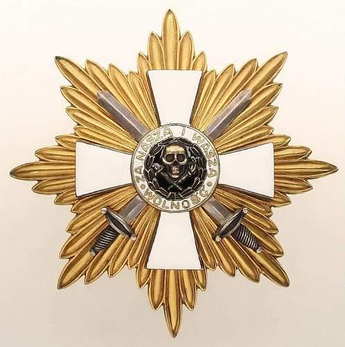 Click image for larger version.  Name:Gwiazda bylej Armii Ochotniczej Generala Bulak Balachowicza  55000zla.jpg Views:269 Size:103.2 KB ID:289933