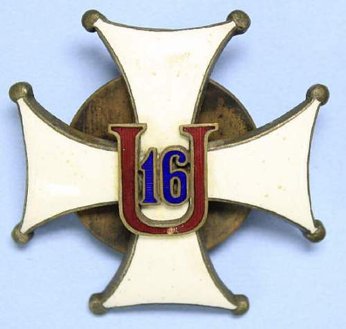 16th Ulhans badge - opinion wanted.