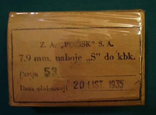 Polish 8MM Ammo