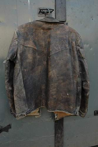Pre-War Polish Airforce Pilot's Leather Jacket ?