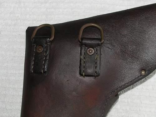 Pre-War Perkun Flare Pistol Holster, 100% original Pre-War ?