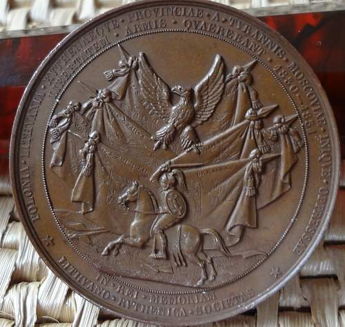 Early Patriotic Table Medals