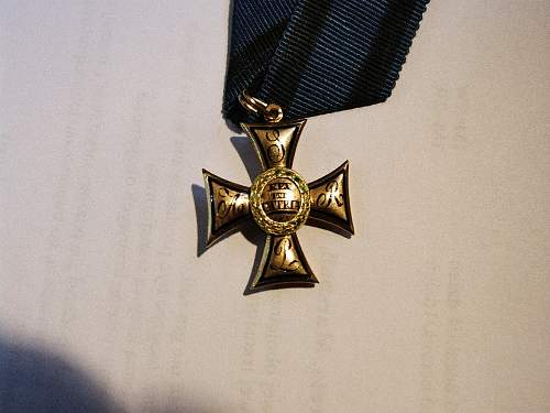 Gold 1831 Virtuti Militari
