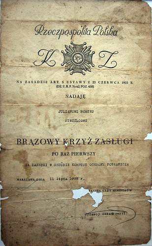 """The history of the soldier """"from Warsaw to Berlin"""":"""
