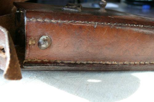 Original Pre-war Vis Holster with Vis Pistol