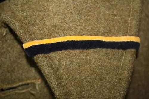 Wz.36 Polish Army  Infantry Captain's Greatcoat, 100% original Pre-War ?